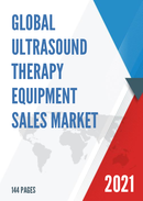 Global Ultrasound Therapy Equipment Sales Market Report 2021