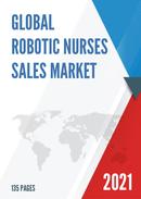 Global Robotic Nurses Sales Market Report 2021