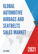 Global Automotive Airbags and Seatbelts Sales Market Report 2021