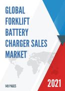 Global Forklift Battery Charger Sales Market Report 2021