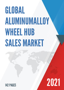 Global Aluminumalloy Wheel Hub Sales Market Report 2021
