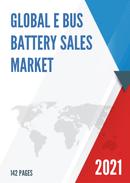 Global E Bus Battery Sales Market Report 2021