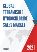 Global Tetramisole Hydrochloride Sales Market Report 2021
