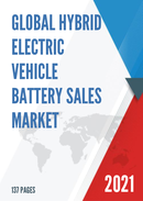 Global Hybrid Electric Vehicle Battery Sales Market Report 2021