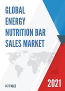 Global Energy Nutrition Bar Sales Market Report 2021