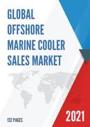 Global Offshore Marine Cooler Sales Market Report 2021