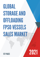 Global Storage and Offloading FPSO Vessels Sales Market Report 2021