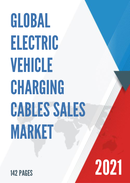 Global Electric Vehicle Charging Cables Sales Market Report 2021