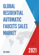Global Residential Automatic Faucets Sales Market Report 2021