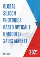 Global Silicon Photonics based Optical I O Modules Sales Market Report 2021
