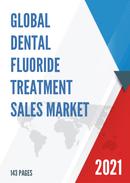Global Dental Fluoride Treatment Sales Market Report 2021