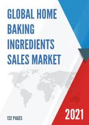 Global Home Baking Ingredients Sales Market Report 2021