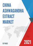 China Ashwagandha Extract Market Report Forecast 2021 2027