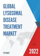 Global Lysosomal Disease Treatment Market Size Status and Forecast 2021 2027