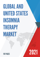 Global and United States Insomnia Therapy Market Size Status and Forecast 2021 2027