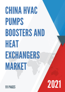 China HVAC Pumps Boosters and Heat Exchangers Market Report Forecast 2021 2027