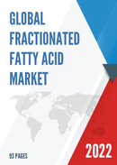 Global and United States Fractionated Fatty Acid Market Insights Forecast to 2027