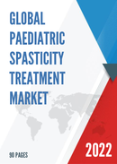 Global Paediatric Spasticity Treatment Market Size Status and Forecast 2021 2027