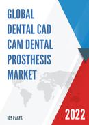 Global Dental CAD CAM Dental Prosthesis Market Size Status and Forecast 2021 2027