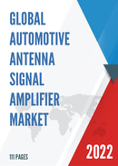 Global and United States Automotive Antenna Signal Amplifier Market Insights Forecast to 2027