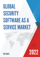 Global Security Software as a Service Market Size Status and Forecast 2021 2027