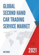 Global Second hand Car Trading Service Market Size Status and Forecast 2021 2027