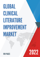 Global Clinical Literature Improvement Market Size Status and Forecast 2021 2027