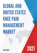 Global and United States Knee Pain Management Market Size Status and Forecast 2021 2027