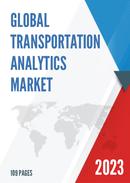 Global Transportation Analytics Market Size Status and Forecast 2021 2027
