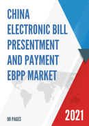 China Electronic Bill Presentment and Payment EBPP Market Report Forecast 2021 2027