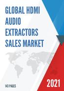Global HDMI Audio Extractors Sales Market Report 2021