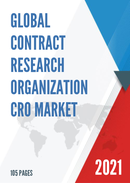 Global Contract Research Organization CRO Market Size Status and Forecast 2021 2027