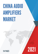 China Audio Amplifiers Market Report Forecast 2021 2027