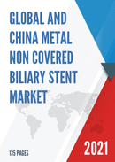 Global and China Metal Non Covered Biliary Stent Market Insights Forecast to 2027