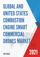 Global and United States Combustion Engine Smart Commercial Drones Market Insights Forecast to 2027