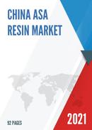China ASA Resin Market Report Forecast 2021 2027