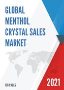 Global Menthol Crystal Sales Market Report 2021