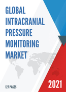 Global Intracranial Pressure Monitoring Market Size Status and Forecast 2021 2027