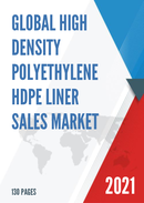 Global High Density Polyethylene HDPE Liner Sales Market Report 2021