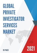Global Private investigator Services Market Size Status and Forecast 2021 2027