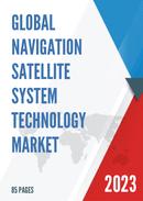 Global Navigation Satellite System Technology Market Size Status and Forecast 2021 2027
