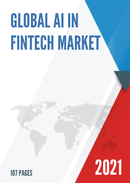 Global AI in Fintech Market Size Status and Forecast 2021 2027