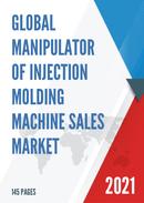 Global Manipulator of Injection Molding Machine Sales Market Report 2021