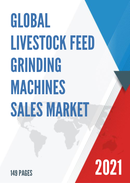 Global Livestock Feed Grinding Machines Sales Market Report 2021