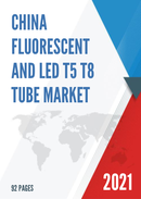 China Fluorescent and LED T5 T8 Tube Market Report Forecast 2021 2027
