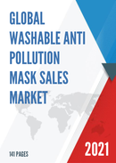 Global Washable Anti Pollution Mask Sales Market Report 2021