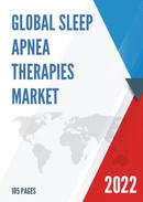 Global Sleep Apnea Therapies Market Size Status and Forecast 2021 2027