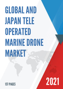 Global and Japan Tele operated Marine Drone Market Insights Forecast to 2027