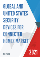 Global and United States Security Devices for Connected Homes Market Insights Forecast to 2027