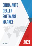 China Auto Dealer Software Market Report Forecast 2021 2027